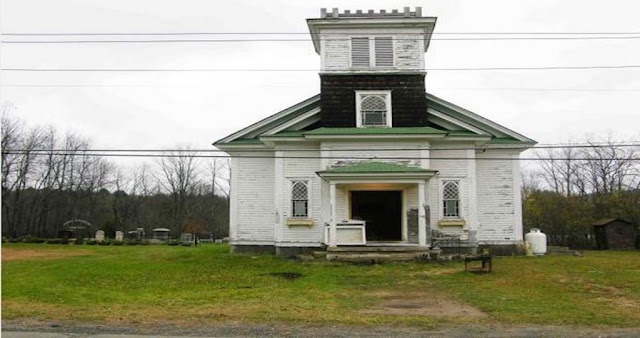 This Church Is For Sale But No One Pays Interest In Buying It Because Of Something In The Backyard!