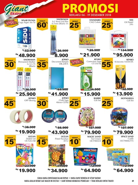 harga promo giant fashion