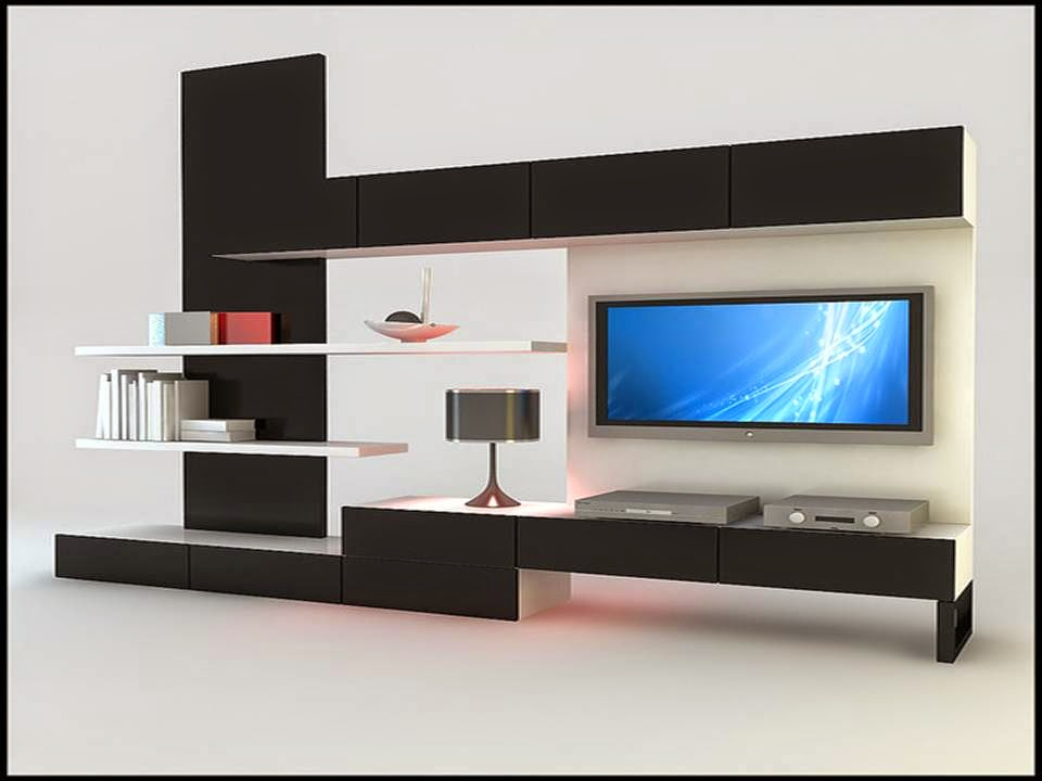 Amazing TV Cabinet Designs Black And White - Dwell Of Decor