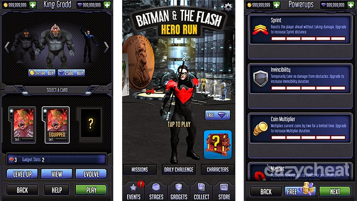 Batman & The Flash: Hero Run Cheats