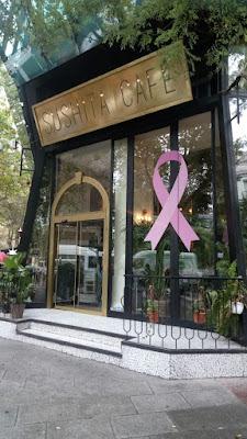 La cadena de restaurantes Sushita se suma al día mundial contra el cáncer de mama