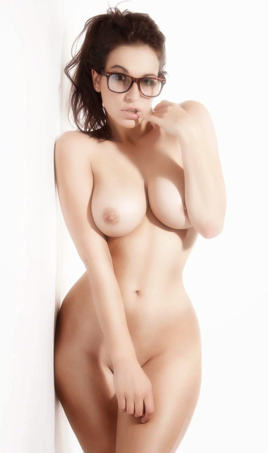 half nude asian girl in lingerie