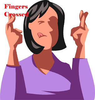 Meaning and Sentence of the idiom'Fingers crossed'