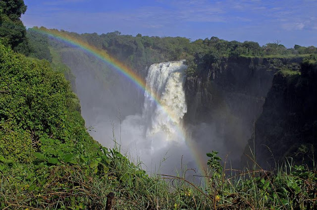 A to Z of Africa - Queen Victoria Falls