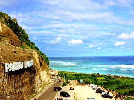 Indahnya Pantai Pandawa, Pulau Bali