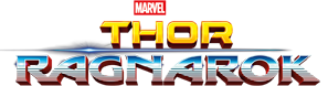 thor ragnarok logo title