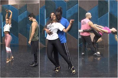 Finalistas falam da expectativa para os ritmos da grande final do 'Dança dos Famosos' — Foto: Gshow