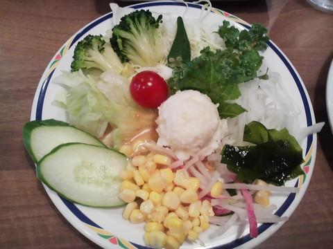 サラダ1 ステーキガスト一宮尾西店4回目