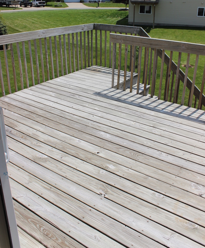 it 39 s a grandville life how to stain deck with behr weather proofing stain. Black Bedroom Furniture Sets. Home Design Ideas