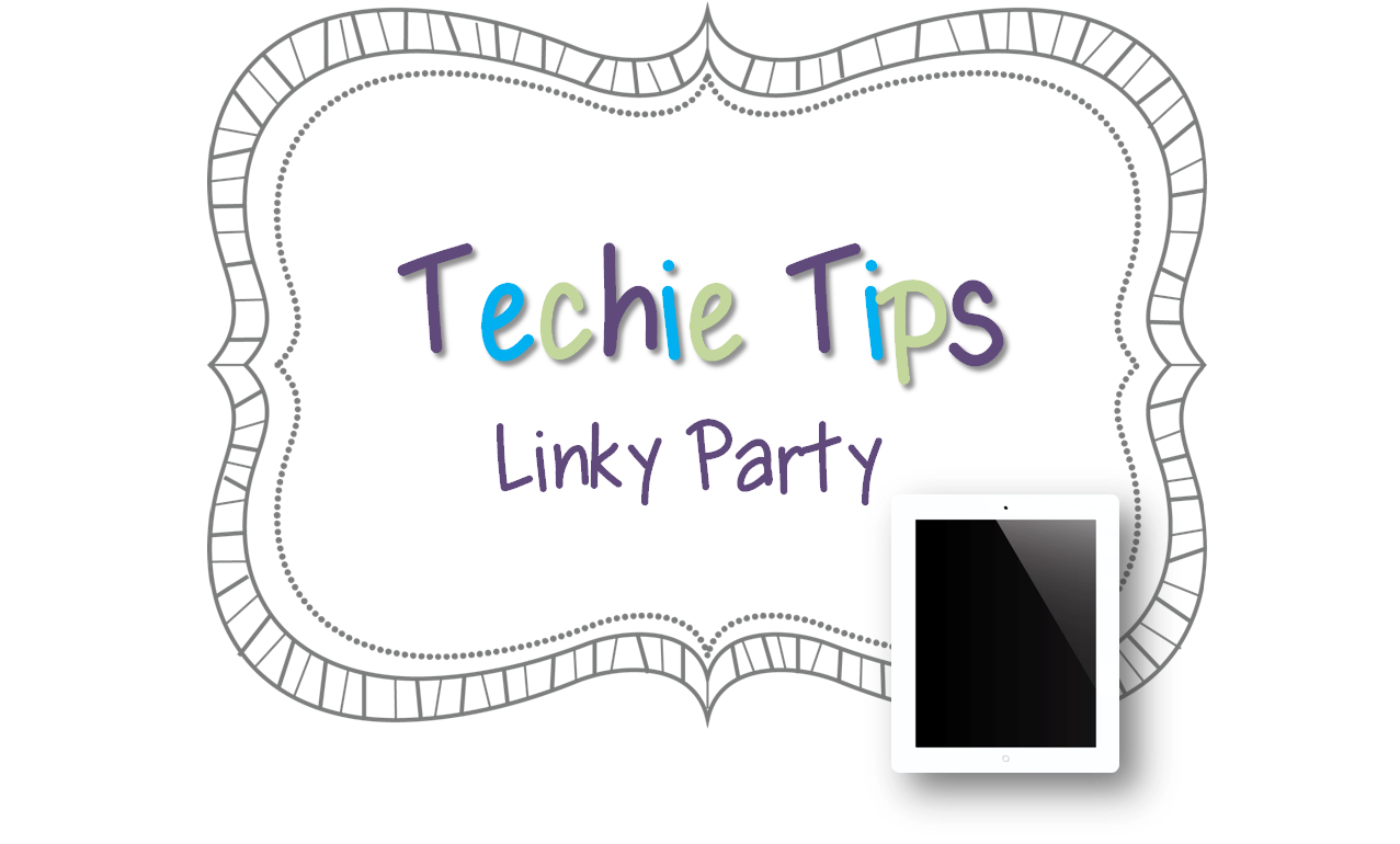 Ms. Patrician's All Star Music: Techie Tips Linky Party