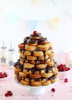 Tarta de Donuts o Pastel de Donas