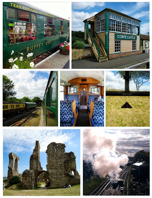 Swanage Steam Train and Corfe Castle