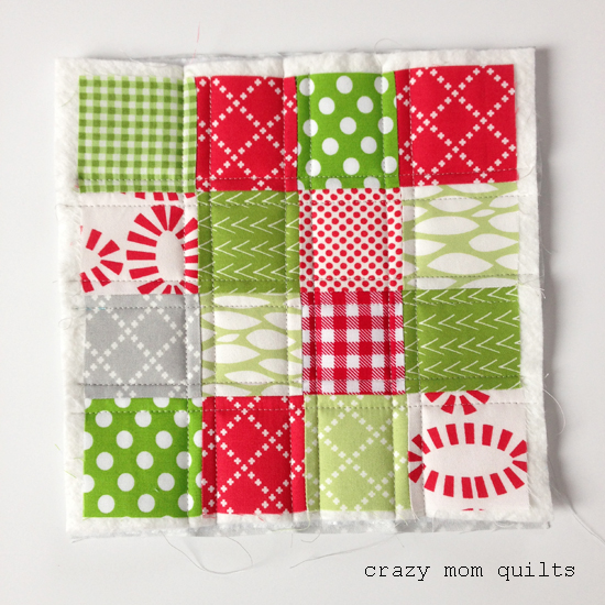 crazy mom quilts: a simple hot pad tutorial