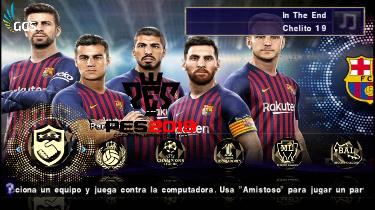 CÙNG CHƠI - PES19 (PSP) Final Version 2019 Full Download for PC