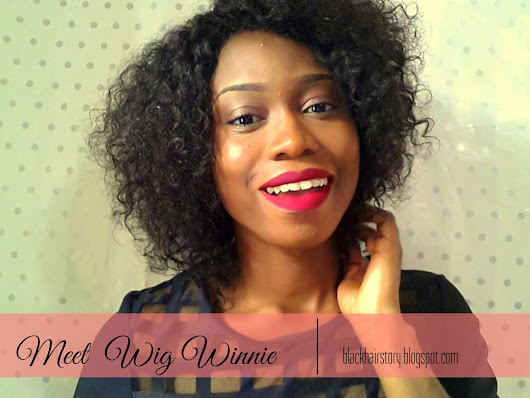 Black Hair Story: Wig Review (Self made)