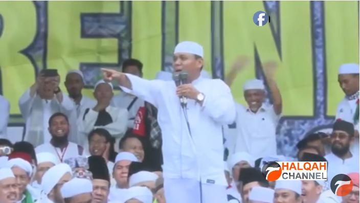 Heboh Gus Nur Sindir Keras Mentri Agama di Reuni 212, Acara LGBT Datang, ini Acara Umat Islam!