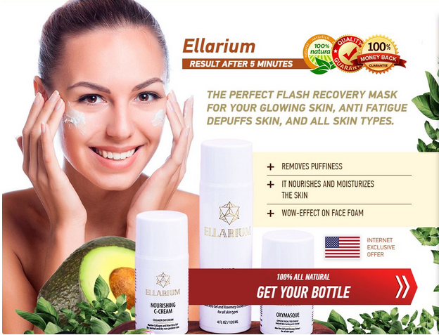 Ellskincare, The perfect flash recovery mask for glowing skin, anti fatigue
