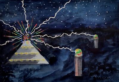 Watercolor - John Keese - Harmonic Wars Pyramid