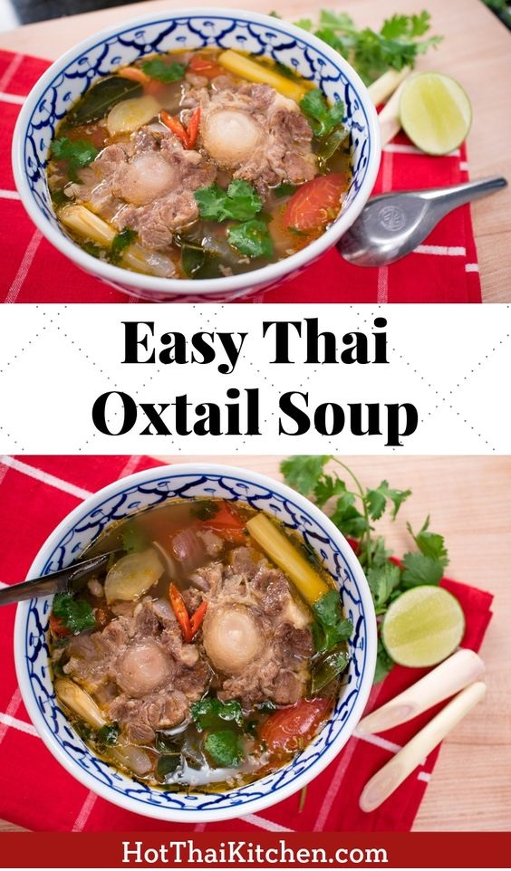 Thai Oxtail Soup