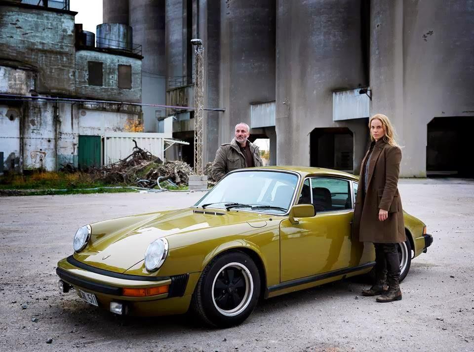 Vintage Car Spotting In Streets Of London Porsche 911