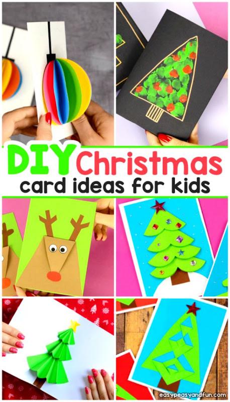 DIY Christmas Card Ideas Easy Peasy and Fun