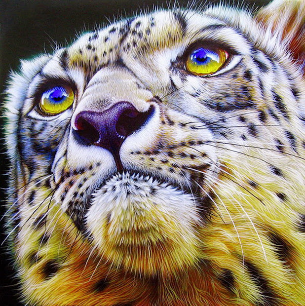 Imgenes Arte Pinturas Animales Flores Asombrosa Pintura De Jurek Zamoyski