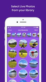 تحميل Live Memories لتحويل الصور الى الفيديو بسهولة للاَيفون