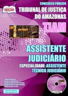 Apostila TJAM Auxiliar Judiciário II