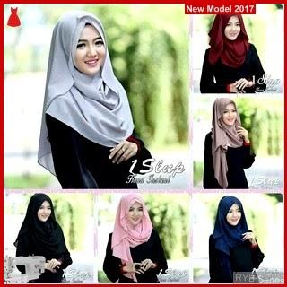 RYB050B Kerudung Hijab Cantik 1Slup Murah Hana BMG Online Shop