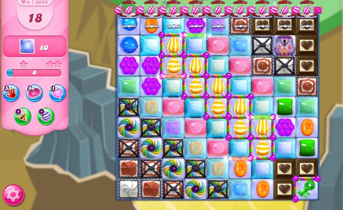 Candy Crush Saga level 6693
