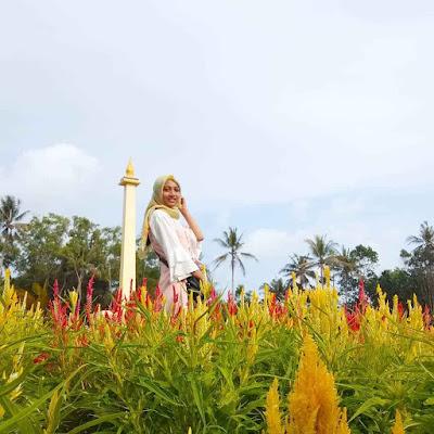 Spot Foto Cantik Taman Bunga Tali Asmoro Cilacap