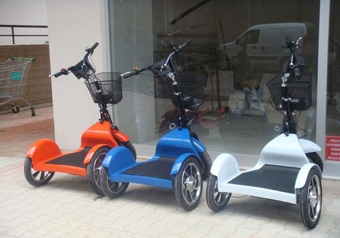 Cixpet Elektrikli Bisiklet Resimleri