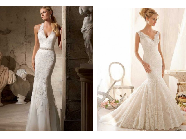 Wedding dresses shop