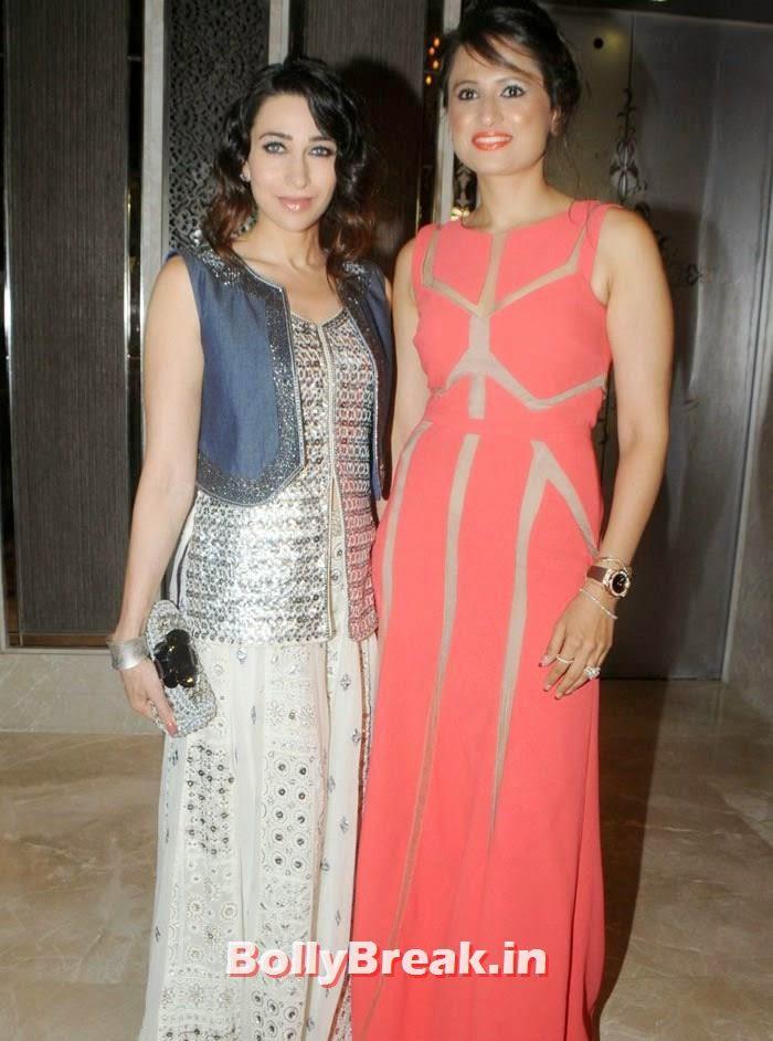 Karisma Kapoor, Bulbeer Gandhi, Karisma Kapoor Inaugurates Glamour Jewelry Exhibition