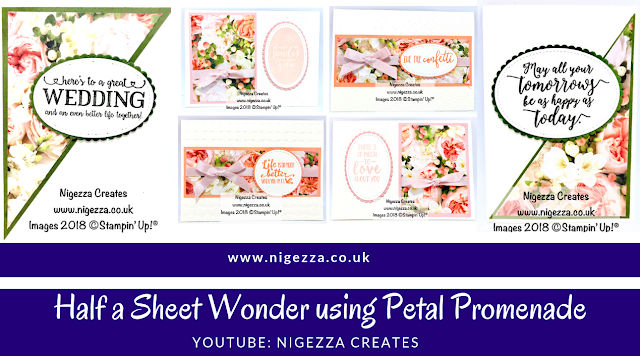 Half Sheet Wonder Using Petal Promenade Nigezza Creates
