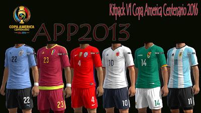 New Kitpack V1 Copa America Centenario 2016