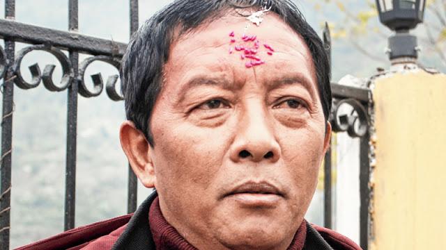 GTA chief Binay Tamang