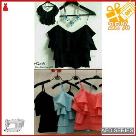 AFO539 Model Fashion Nina Top Modis Murah BMGShop
