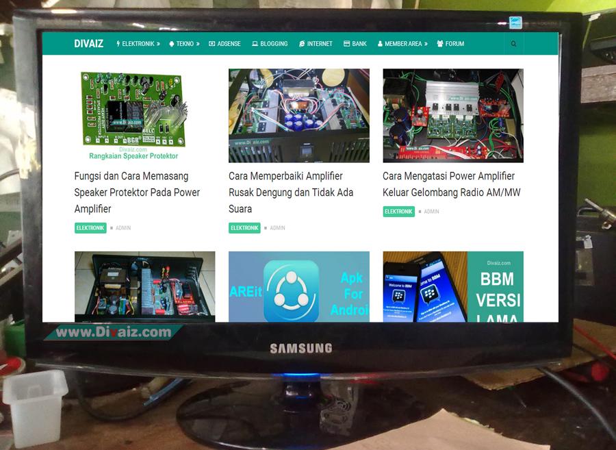 Cara Memperbaiki LCD Monitor Rusak Mati Total