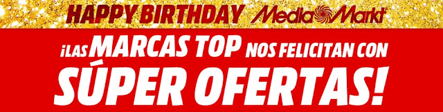 Top 10 ofertas folleto Happy Birthday, Top Marcas de Media Markt