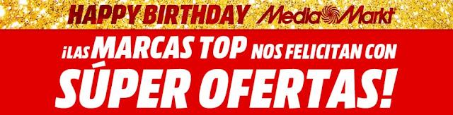 Top 10 ofertas folleto Happy Birthday, Top Marcas de Media Markt