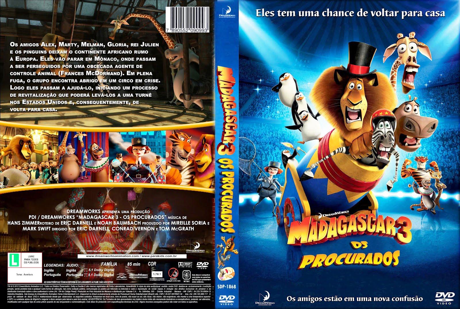 madagascar 3 os procurados filme completo