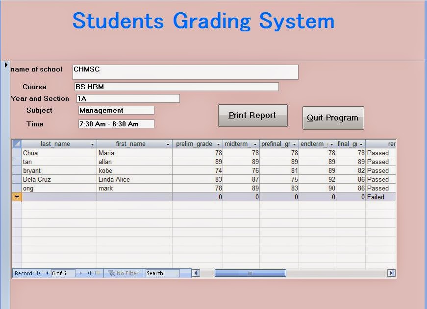 Grading system a boon for students