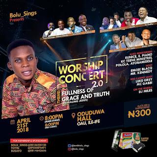 Bolu Sings Worship Concert
