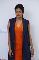Priyamani in Beautiful Short Deep neck Orange Dress ~  Exclusive 26.JPG