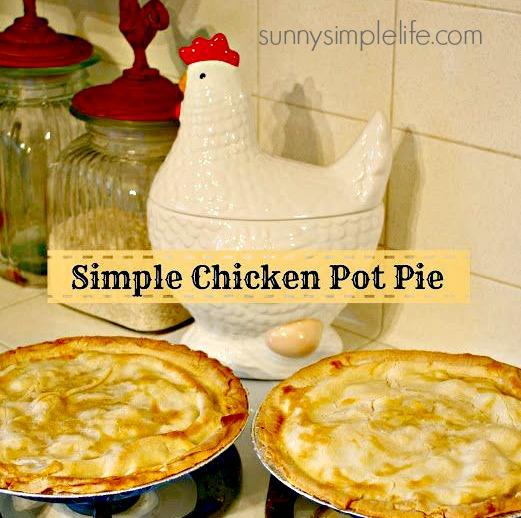 pie, chicken cookie jar