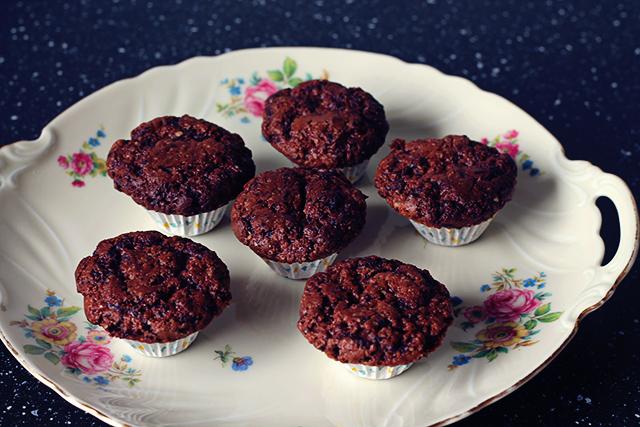 mini cupcakes chocola