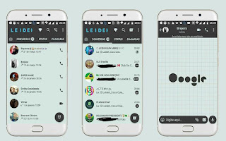 Google Theme For GBWhatsApp By Leideh
