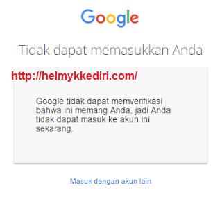 akun google yang dihack13