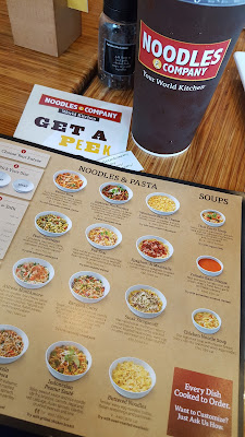 Noodles and Company pasta dishes